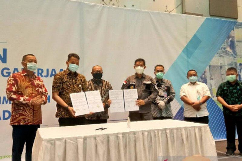 BPJAMSOSTEK -Pemkot Manado lindungi 13.000 pekerja bukan penerima upah