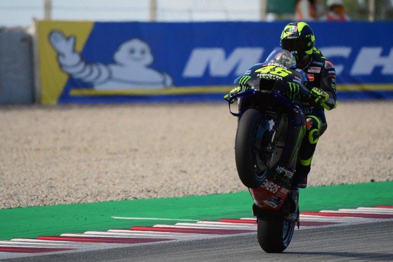 Valentino Rossi resmi satu tahun lagi di MotoGP bersama Petronas Yamaha
