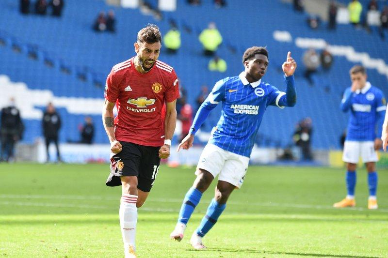 MU menang dramatis 3-2 atas Brighton