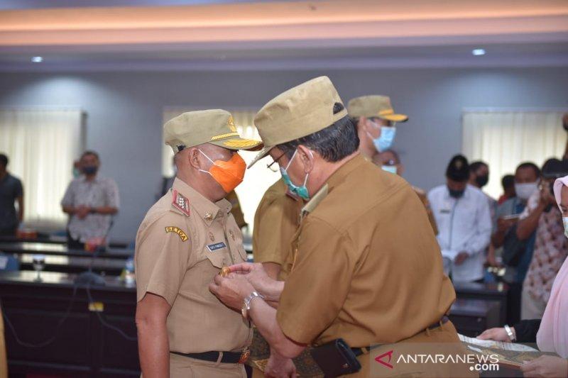 Gubernur Sulteng  kukuhkan empat Pjs Bupati