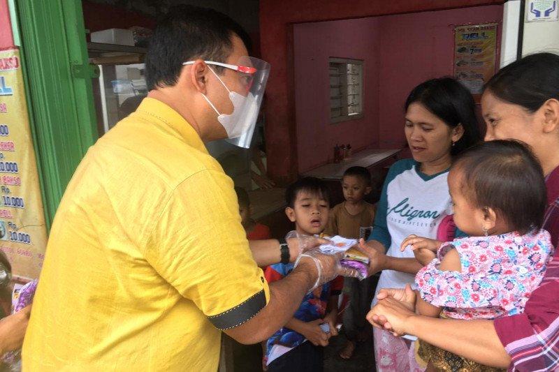 Rycko Menoza kampanye perdana kunjungi warga Bandarlampung