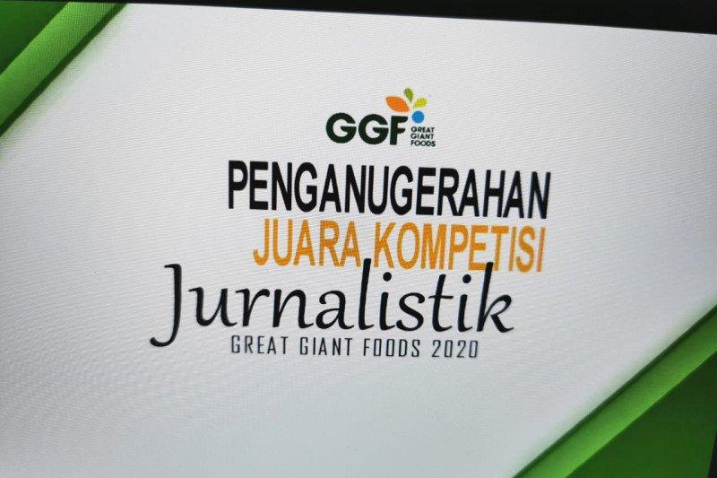 Anugerah Kompetisi Jurnalistik Award GGF 2020