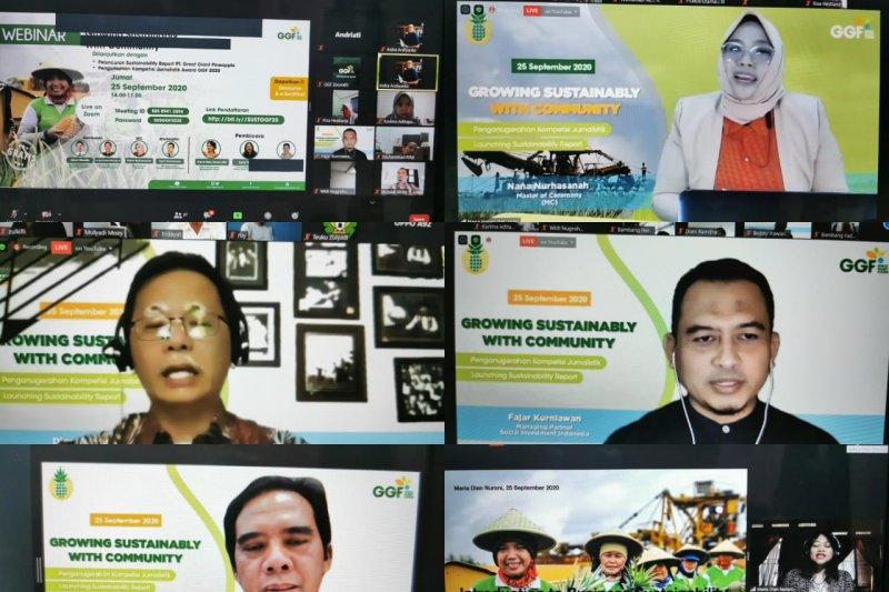 """PT GGP luncurkan """"sustainability report"""" pertama di Provinsi Lampung"""