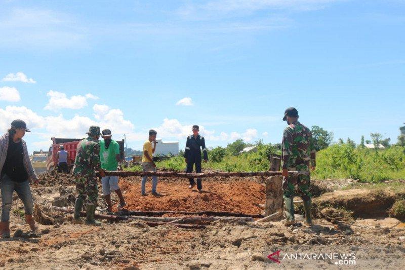 Satgas TMMD pacu bangun jalan 1.100 meter di Tarakan