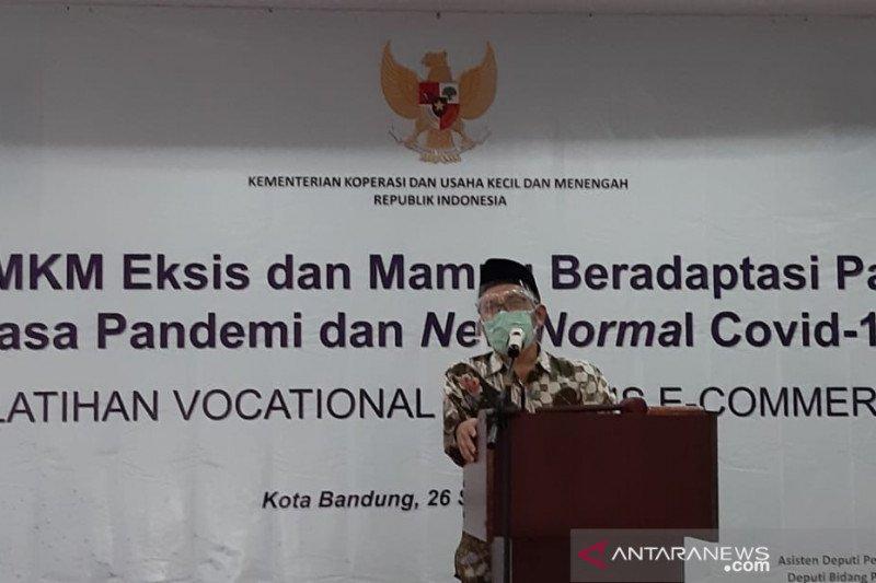 Pelatihan e-commerce bagi binaan ICCN Jabar digelar Kemenkop-UKM di Bandung