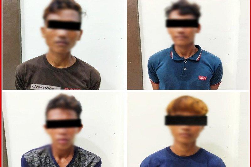 Empat pekerja sawit diduga habisi rekan kerja demi ponsel