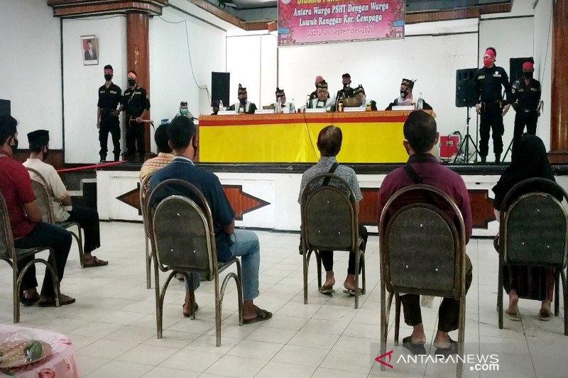 Ini hasil sidang adat delapan oknum anggota PSHT di Sampit