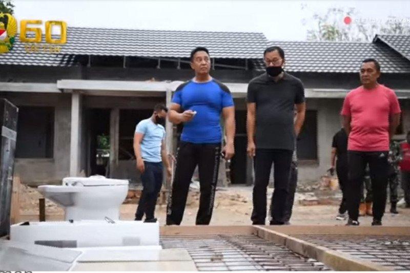 Kasad meninjau perumahan prajurit di Yogyakarta
