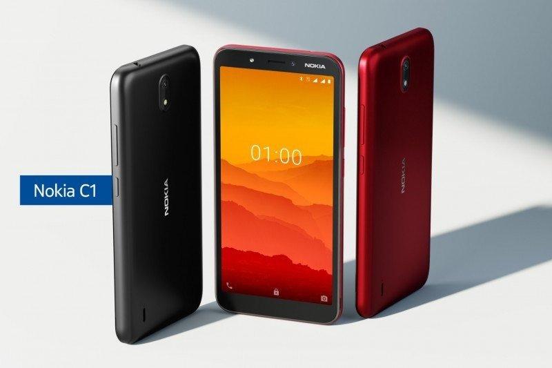 Ponsel Nokia C1, harganya tak sampai Rp1 juta