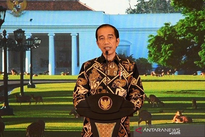 Presiden Jokowi resmikan jalan tol Manado-Bitung secara virtual