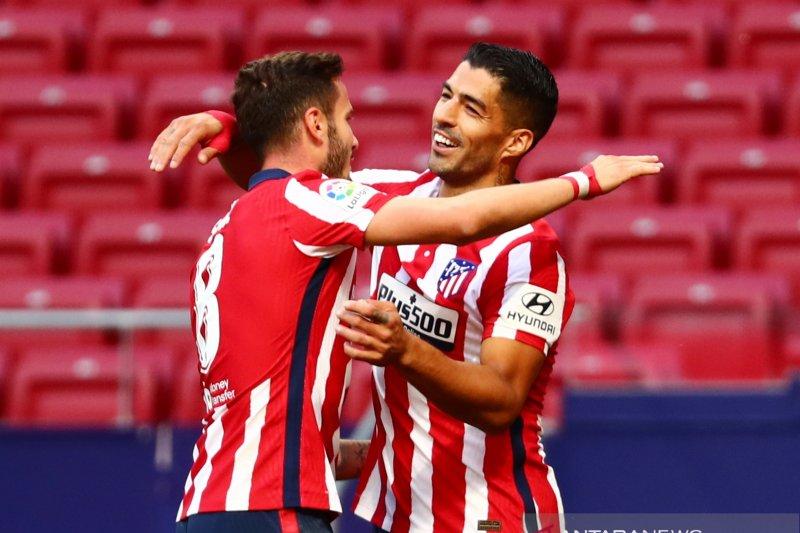 Luis Suarez debut dengan bawa Atletico gasak Granada 6-1