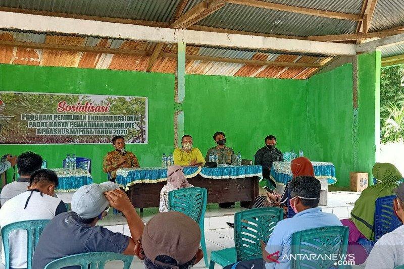 BPDASHL Sampara membantu ekonomi warga melalui program PKPM