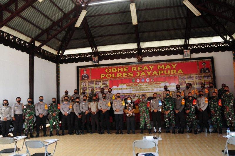 40 Bhabinkamtibmas-Babinsa di Jayapura ikuti peningkatan SDM Keaksaraan