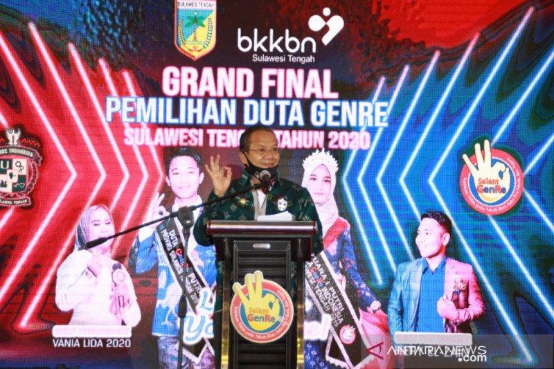 Gubernur Sulteng minta generasi muda tunda nikah di usia dini