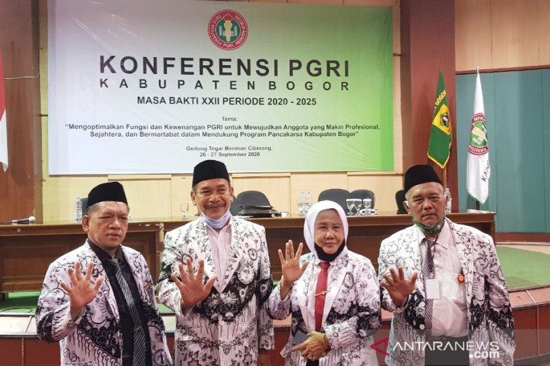 Amsohi terpilih jadi Ketua PGRI Bogor 2020-2025