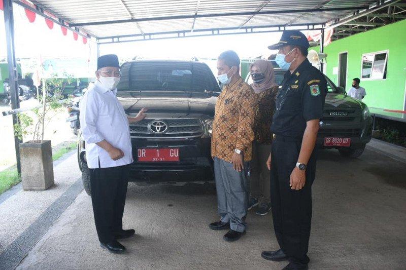 Bupati Lombok Utara kembalikan kendaraan dinas karena cuti kampanye
