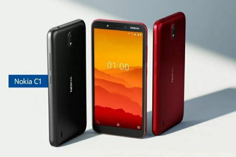 Nokia C1, menyasar ponsel fitur ke smarphone