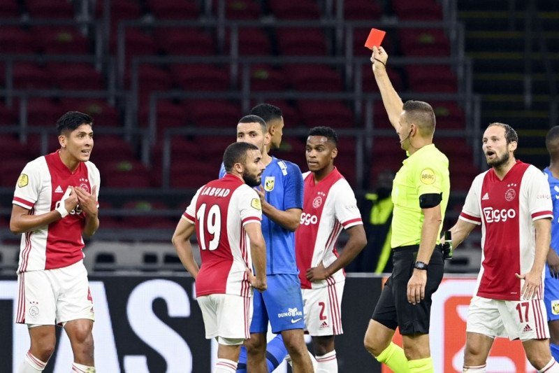 Klasemen Liga Belanda: Ajax mengambil alih puncak dari Heerenveen