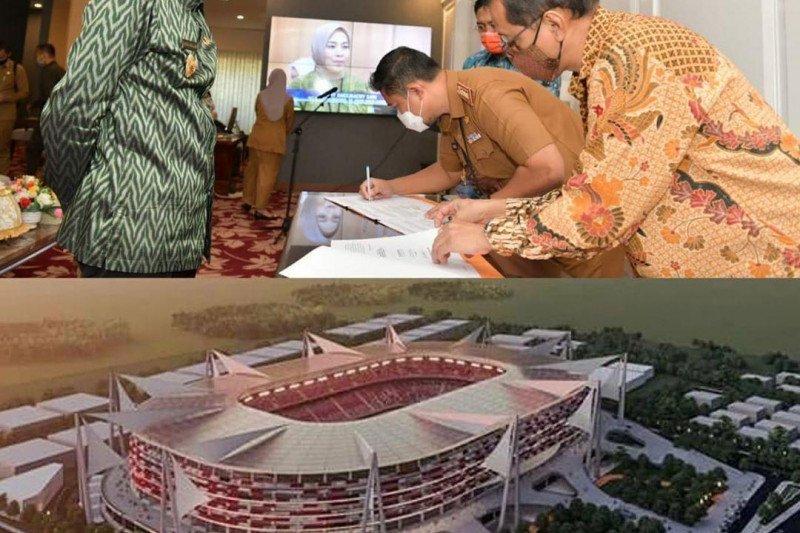 Pemprov Sulsel teken MoU DED dan MK rehabilitasi Stadion Mattoanging