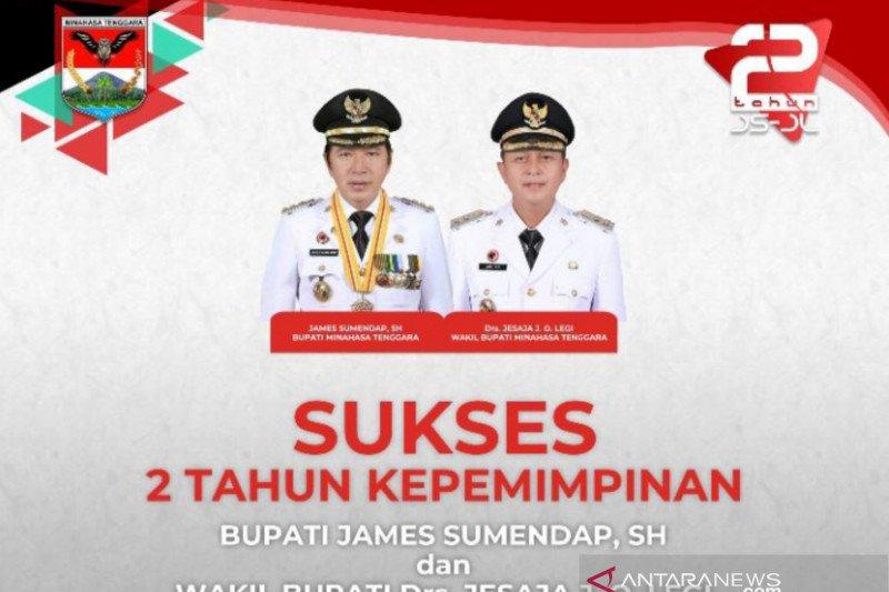 Dua Tahun Kepemimpinan Bupati James Sumendap dan Wakil Bupati Jocke Legi, Wujudkan Mitra Berdaulat, Berdikari dan Berkepribadian