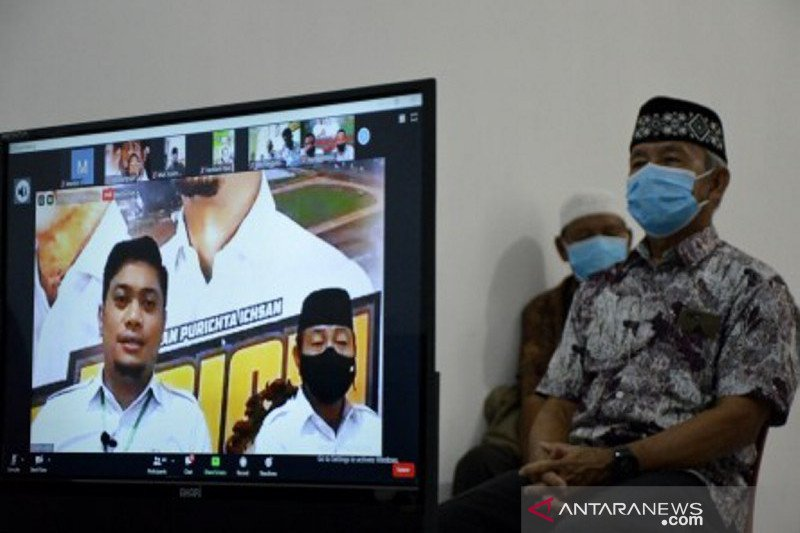 Kampanye virtual calon tunggal Bupati dan Wakil Bupati Gowa