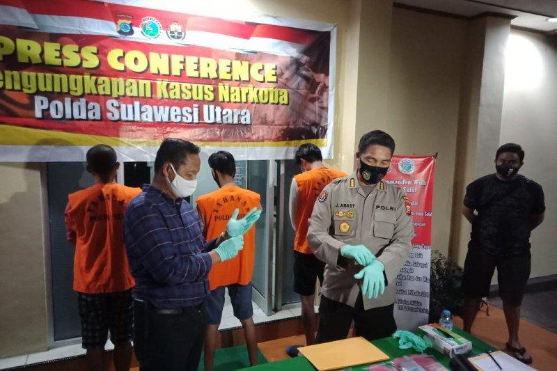 Polda Sulawesi Utara kembangkan penyidikan kasus narkotika