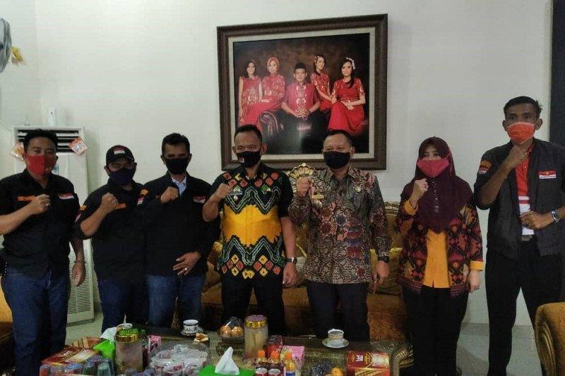 Wakil Bupati Pringsewu terima audensi Laskar Merah Putih