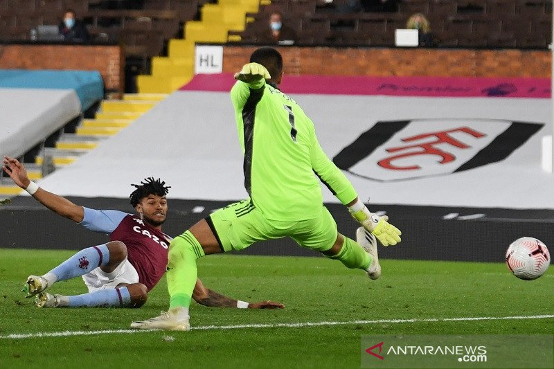 Aston Villa kalahkan Fulham 3-0 di Craven Cottage