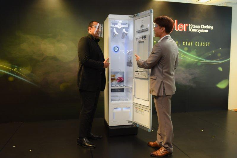 LG Indonesia kenalkan lemari pintar penghalau virus corona