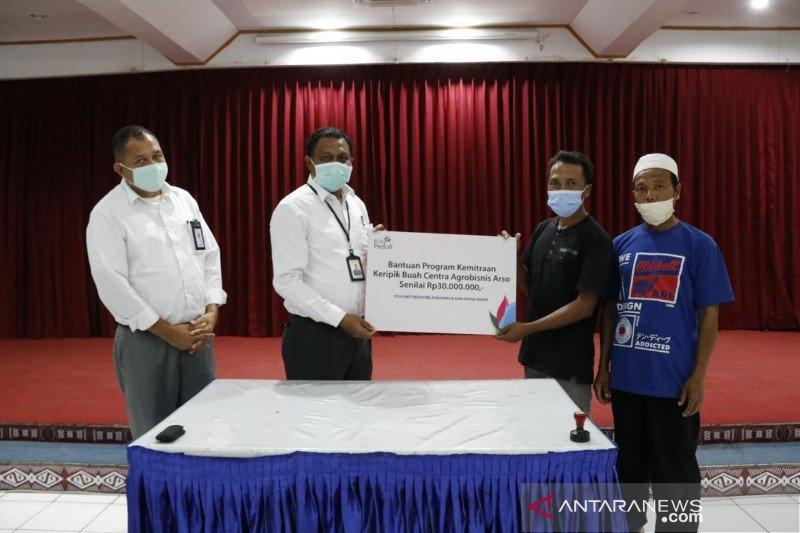 PLN salurkan bantuan modal usaha guna dukung UMKM di Papua