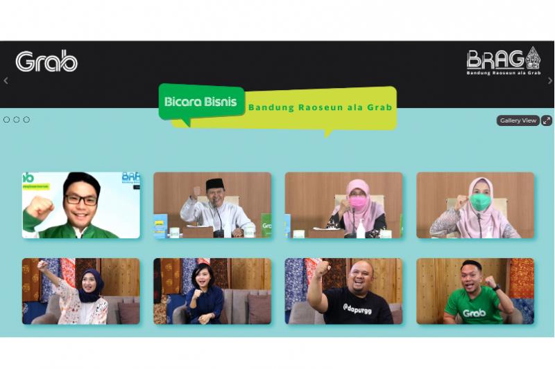 Rayakan Hari Jadi ke-210 Kota Bandung, Grab ajak UMKM lokal berdigitalisasi lewat
