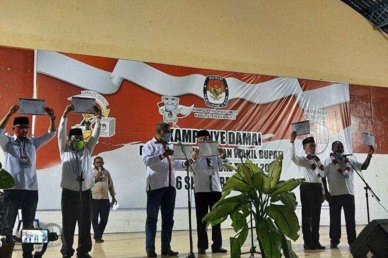 KPU Merauke ingatkan paslon patuhi protokol kesehatan saat kampanye