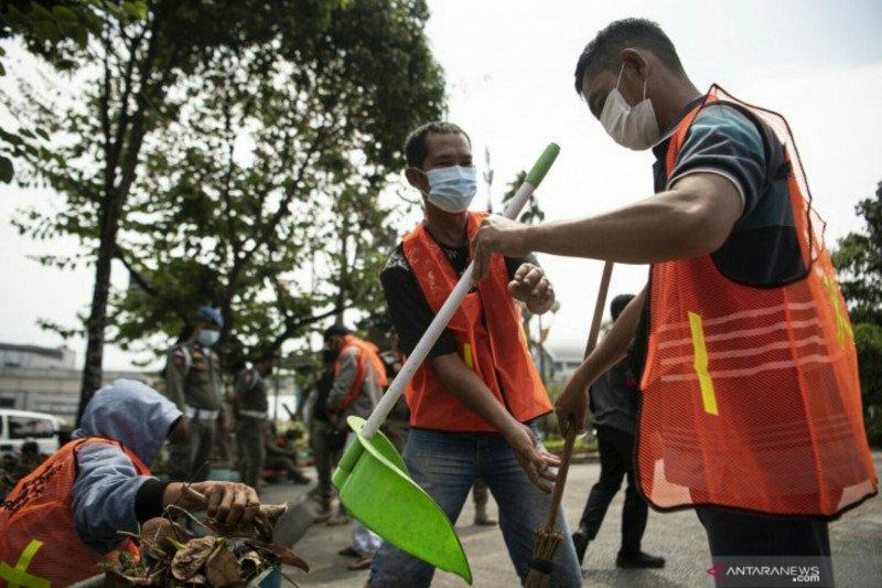 Sebagian pelanggar protokol kesehatan di Palembang pilih denda