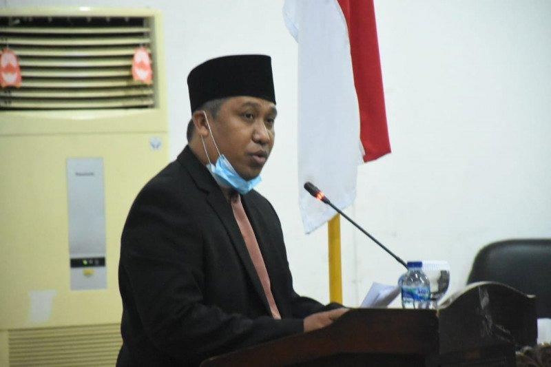 Plt Bupati Lombok Utara sampaikan nota keuangan RAPBD perubahan 2020