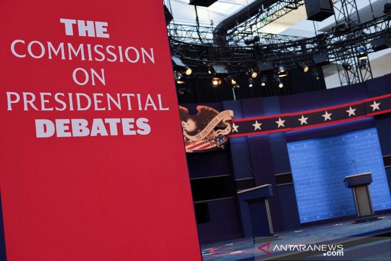 Trump dan Biden saling serang dalam debat pilpres pertama