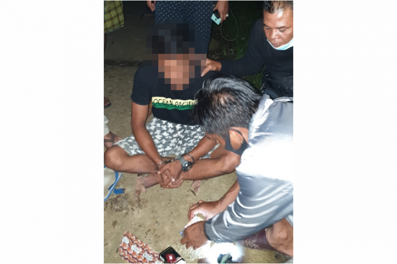 Polres Pasaman Barat tangkap seorang pengedar sabu