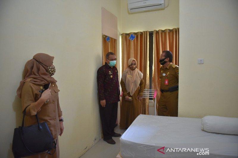 Pemprov Sulteng  gunakan 100 kamar gedung BPSDM untuk pasien COVID
