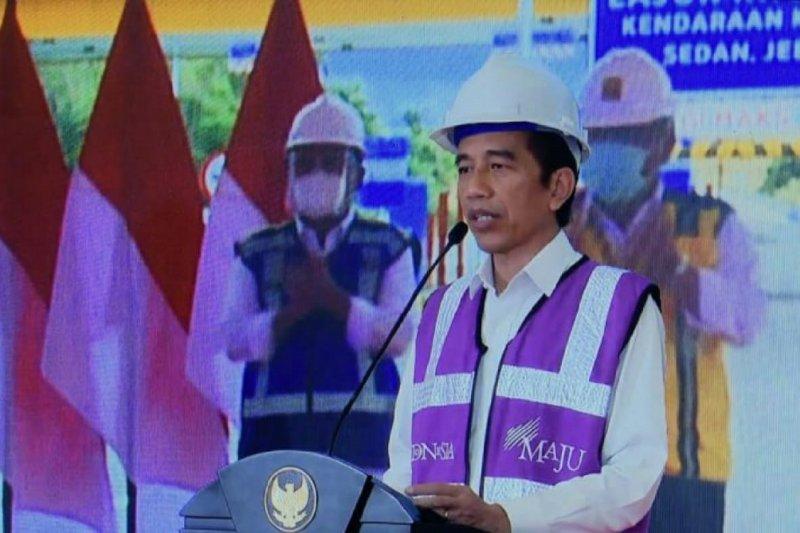 Presiden resmikan ruas Manado-Danowudu Sulawesi Utara