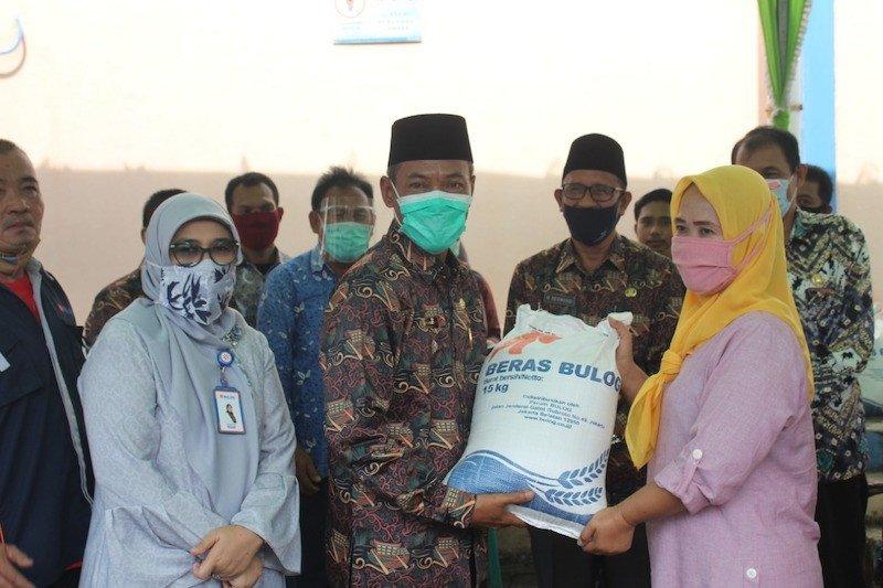 Lebih 35 ribu KPM di Kabupaten OKI terima  bantuan beras