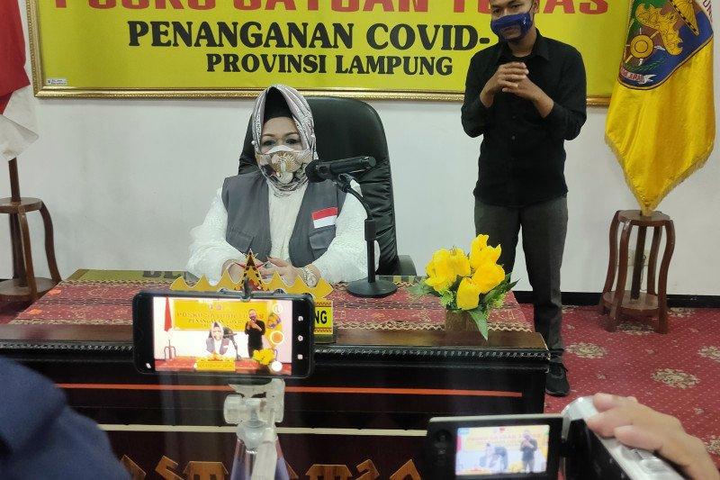 Dinkes : Pasien sembuh COVID-19 di Lampung bertambah jadi 648