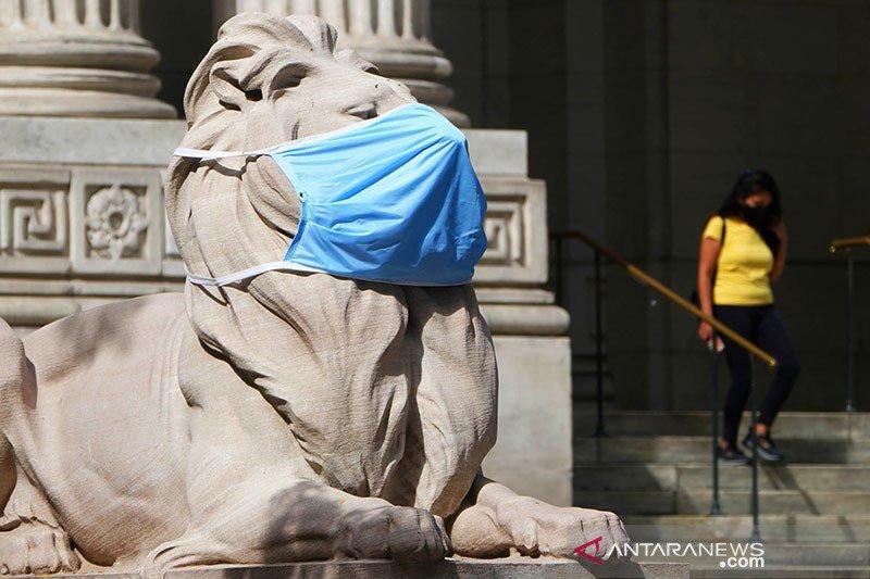 Kota New York denda orang yang menolak gunakan masker
