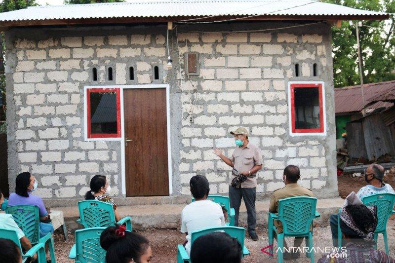 Program bedah rumah di Kota Kupang dilanjutkan 2021