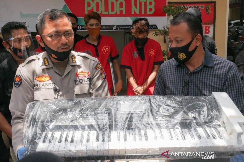 Polda NTB menangkap juru parkir bobol ruko di tengah pandemi COVID-19