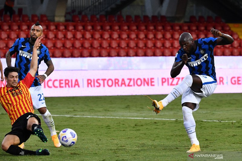 Inter menang 5-2 atas Benevento