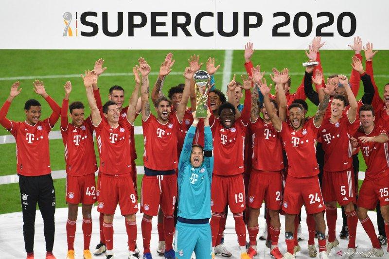 Kalahkan Dortmund, Bayern Munchen menangi Piala Super Jerman