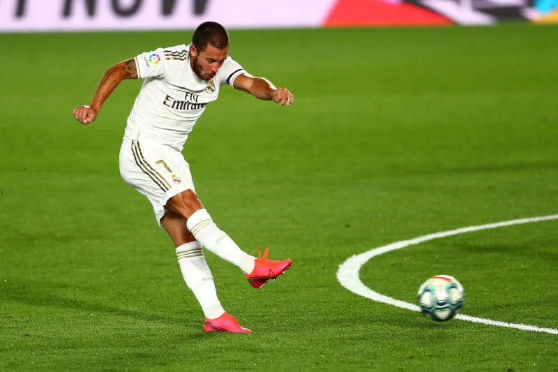 Eden Hazard siap kembali perkuat Real Madrid kala bertandang ke Elche