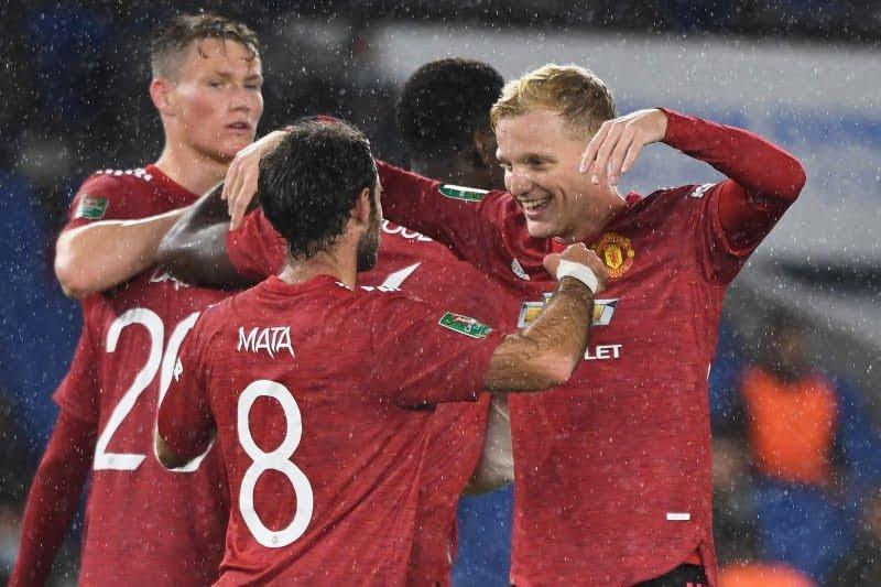 Van de Beek bahagia bermitra dengan Juan Mata di MU