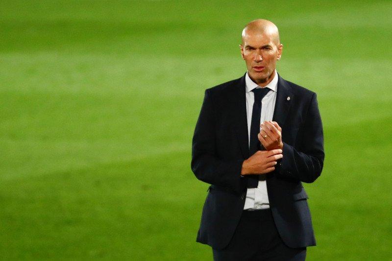 Zidane belum puas walau Madrid menang atas Valladolid