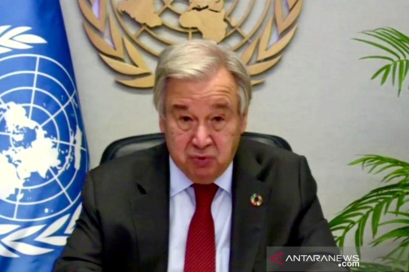 Sekjen PBB sebut dunia gagal hadapi ujian pandemi COVID-19