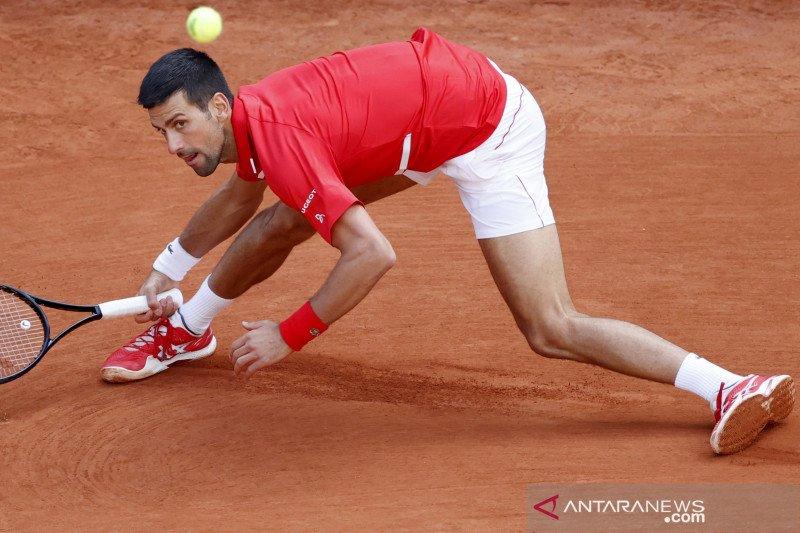 Novak Djokovic catatkan kemenangan ke-70 di Roland Garros